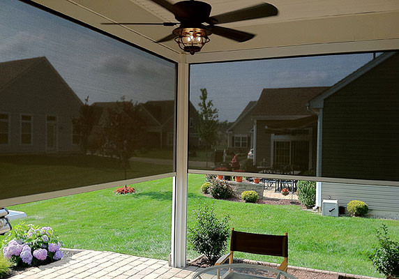 Expand Your Outdoor Living E While Avoiding The Nuisance Of Sun Glare And Flying Insects With One Our Mechanically Operated Screen Enclosure Systems